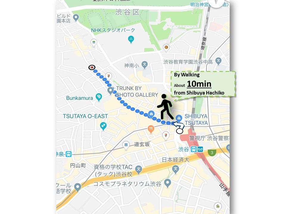 MUPカフェへの行き方は?最寄り駅は?