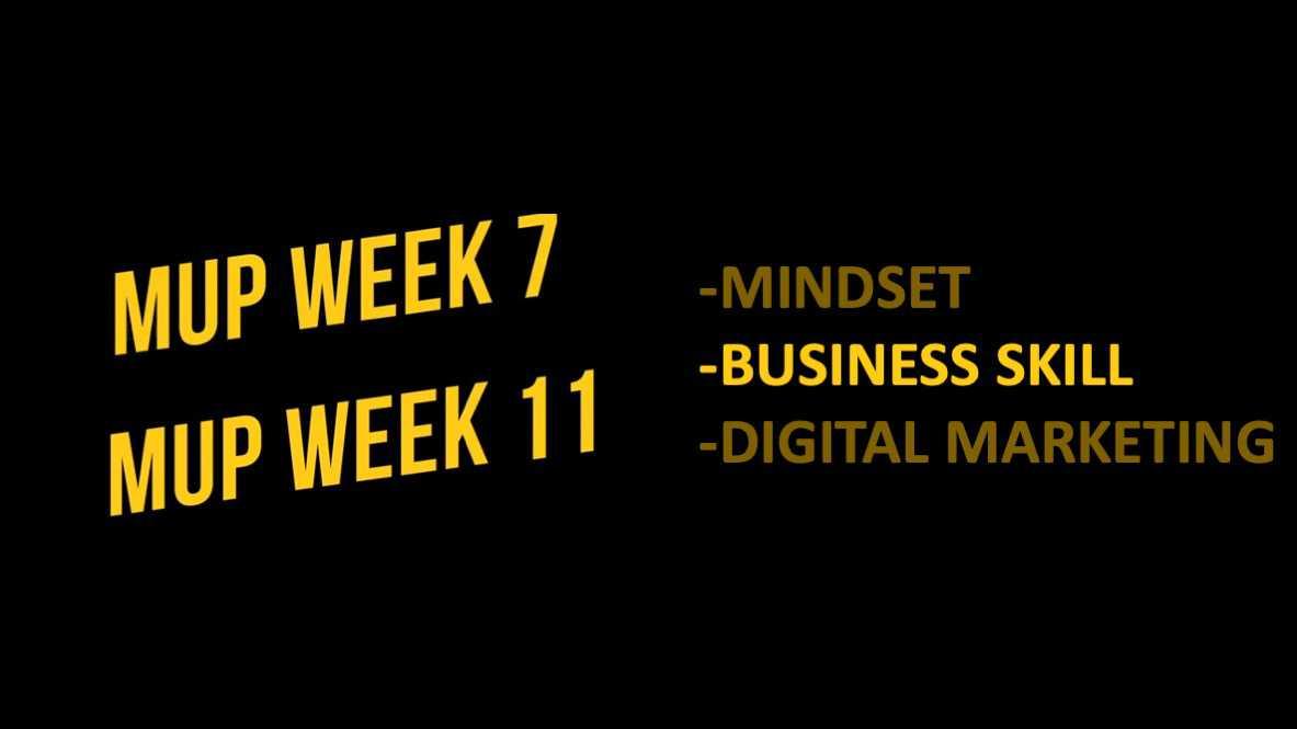 WEEK7~11(ビジネススキル)