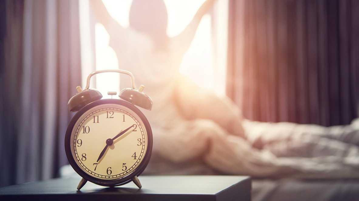 早寝早起きが当たり前になる